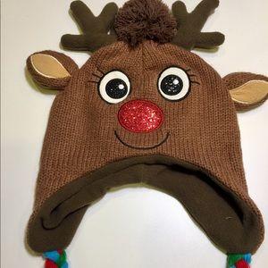 Reindeer Knit Beanie